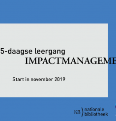 Leergang Impactmanagement